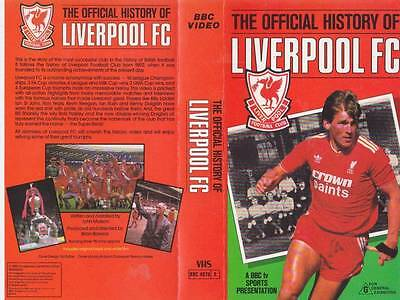 Liverpool The Offical Story  Vhs Video Pal~A Rare Find