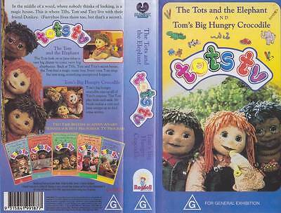 Tots Tv Volume 11 And 12   Vhs Video Pal~A Rare Find