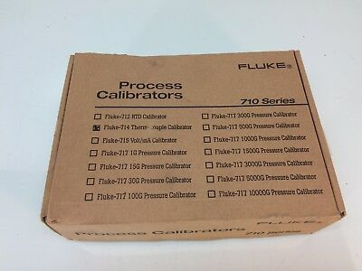 NEW Fluke 714 Thermocouple Temperature Calibrator