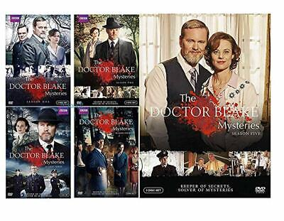 Doctor Blake Mysteries: Complete Seasons 1-4-5 DVD 60 Day Extended Warranty