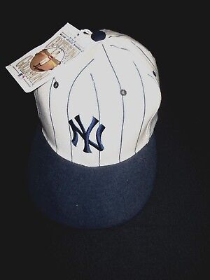 b849c17c9 N.y. Yankees Rare Vintage 100% Wool Cap Fitted Nwt Mlb Cooperstown  Collection
