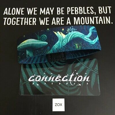 Sold Out Limited Edition Lighthouse ZOX Strap KEEPER Reversible Wristband