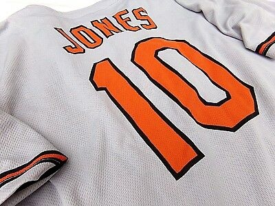 Adam Jones MLB Baltimore Orioles #10 Adult Promotional Jersey EUC