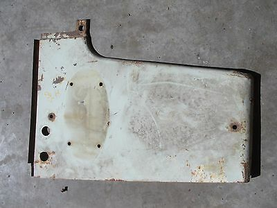 Farmall 560 Tractor IH IHC radiator left side cover panel