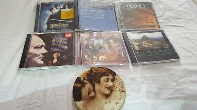 Job Lot CD albums classic stefano menato macchu piano movies harry potter eroica
