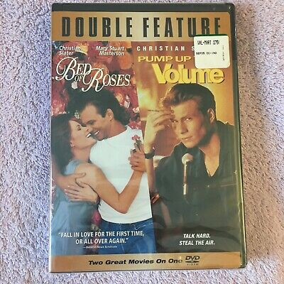 Bed of Roses/Pump Up the Volume (DVD, 2005) Brand New Sealed
