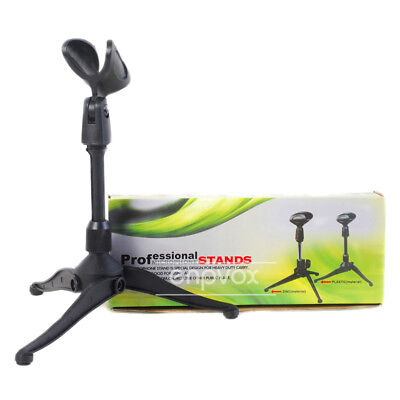 Tripod Desktop Microphone Stand Tabletop Mic Holder For Shure SM57 SM58 Beta 58A
