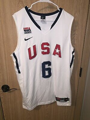 ef3865387721 NBA USA TEAM Basketball Shirt Jersey Nike  10 Bryant -  150.00 ...
