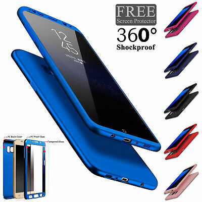Luxury 360 Degree Full Cover Phone Shockproof Case For Samsung Galaxy A7 2018