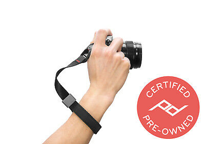 Peak Design Camera Cuff/Wrist Strap V3 Black (Lifetime Warranty) - PD Certified