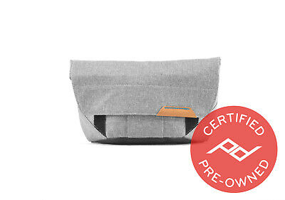 Peak Design Field Pouch Ash (Lifetime Warranty) - PD Certified