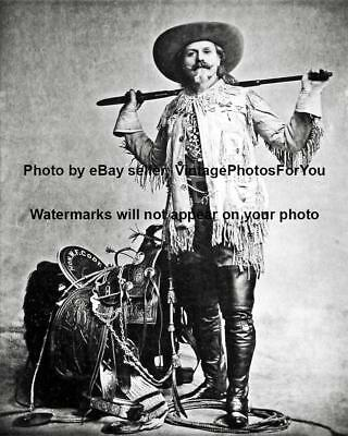 Medal of Honor Wild West Buffalo Bill Cody Sharpshooter Civil War Veteran Photo