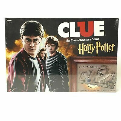 New Harry Potter Clue Board Game Adults Kids Party Home Card Board Game