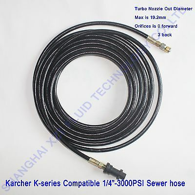 Karcher pressure washer drain cleaning hose(Tur),sewer jetter hose,drain cleaner