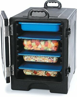 Carlisle Cateraide Hot/Cold Insulated 6hr Food Warmer 5 Pan Storage Black Cambro