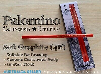 Palomino Premium Cedarwood 1pc Graphite 4B Pencil (Blackwing calligraphy draw)