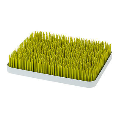 "Boon Grass Countertop Drying Rack,Green, 18 Bottles, BPA & PVC Free, 11"" x 13.5"""