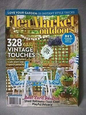 Country Almanac 245 Magazine Flea Market Outdoors 2019 New