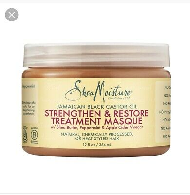 Shea Moisture Jamaican Black castor Oil Strengthen,Grow Repair & treatments Mask