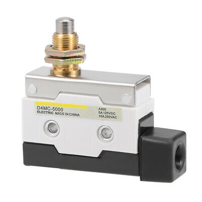 D4MC-5000 Roller Plunger Micro Limit Switch Momentary Panel Mount 1NC+1NO 7310