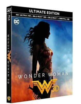 Blu Ray 4K + 3D + Blu ray : Wonder Woman - NEUF