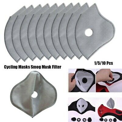 Bicycle Cycling Anti-dust Tool Smog Mask Filter Activated Carbon Masks