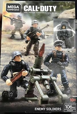 Mega Construx Call Of Duty Enemy Soldiers Axis Troops Fvg04