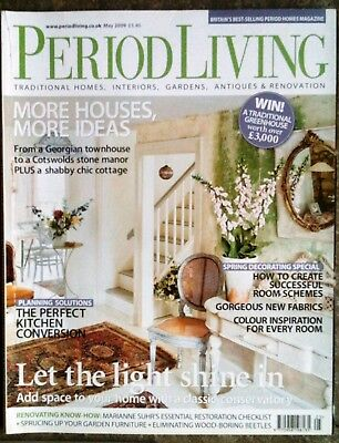 Period Living Magazine May 2009 - very good condition