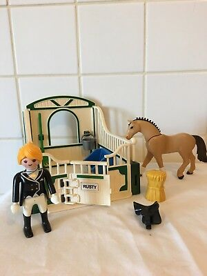 PLAYMOBIL Box Marron /& Beige pour Cheval 5110 5112 EQUESTRE T2253