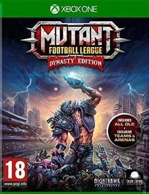 Mutant Football League: Dynasty Edition (XBOX ONE VIDEO GAME) *NEW/SEALED*