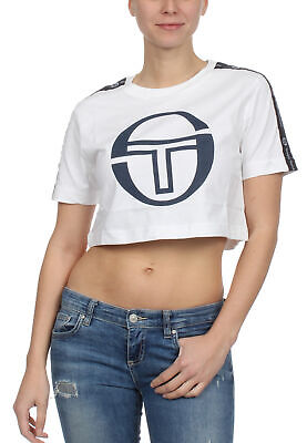 Sergio Tacchini T-Shirt Ladies Romina 38068 White/Navy