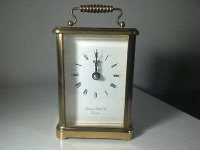 Vintage classic brass Carriage clock.