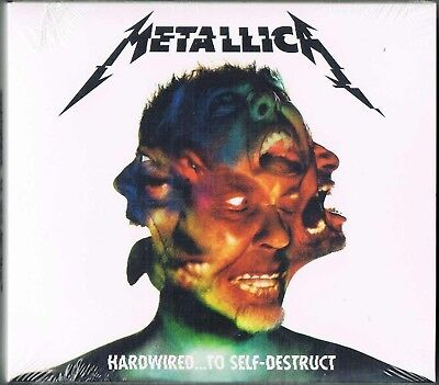 METALLICA  HARDWIRED...TO SELF-DESTRUCT 2016  2 CD Set  New Factory Sealed