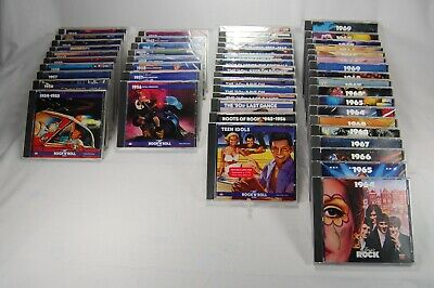 Mint 51 CDs50s 60s Time Life Rock N & Roll Roots Rave On Rockabilly 1130 Songs