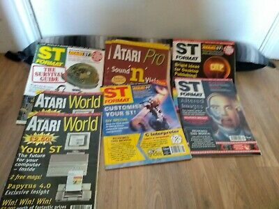 Atari World Issue 1 Magazine