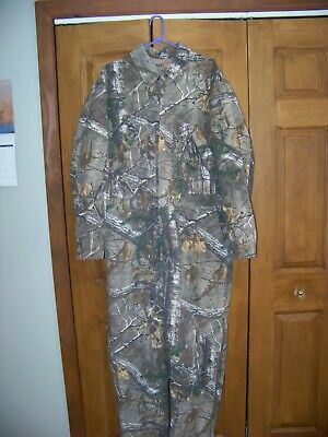 420e959f72bcd MEN'S REDHEAD SILENT Hide Coverall Insulated Sz L - $19.99 | PicClick