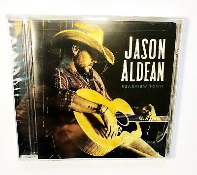 Jason Aldean Rearview Town CD 2018 Album Brand NEW Sealed - Ships Fast
