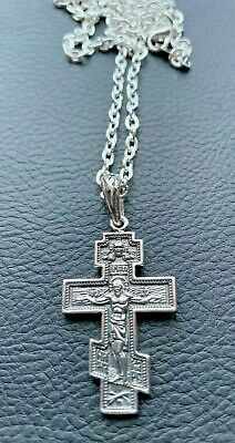 Byzantine Body Cross Orthodox Crucifix Old believer St Michael Catholic Medal