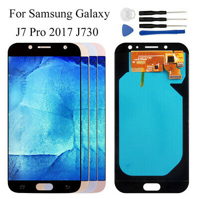 For Samsung J7 Pro 2017 J730G J730GM Curved edge LCD Display + Touch Screen rhn2