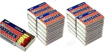 Quality Home Wooden Kitchen Matches 10 Boxes 32 Count Per Box (320 Pieces)