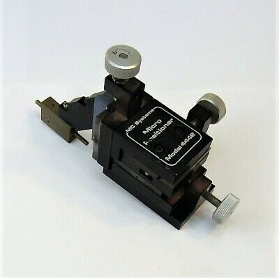 MC Systems Model 4442 Micropositioner