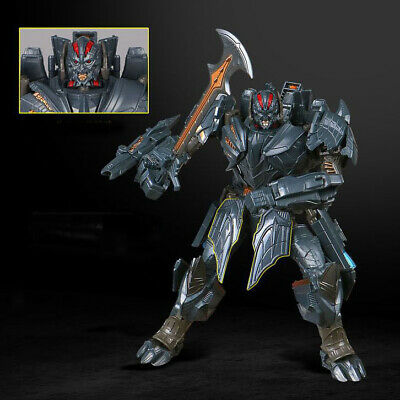 """8"""" Transformers 5 Movie The Last Knight V Megatron Action Figures Plane Gifts"""