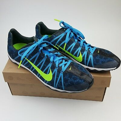 first rate b64d4 e806a Nike Zoom Rival XC Men s Running Shoes Size 10 Style 605506-333 Blue Green  Black