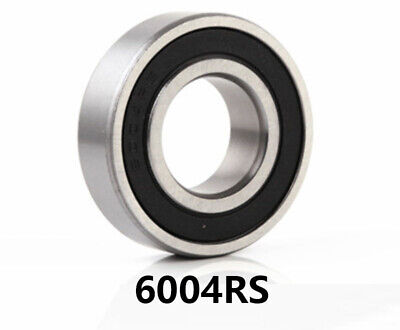 Pack of 20 x 6004RS 20mm Wheel Bearings (20mm x 42mm x 12mm) Go Kart