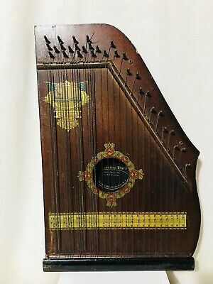 Antique Oscar Schmidt Chickering Harp Special Model 1915 Patented 1894