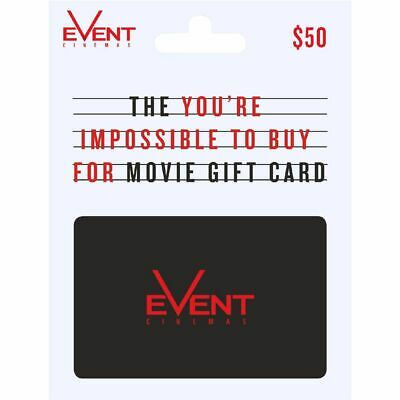 Event Cinema Gift Card $50