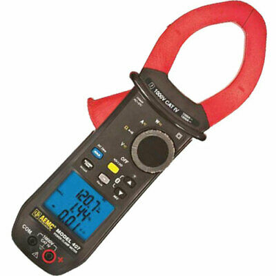 AEMC 407 (2139.51) TRMS Clamp-On Meter, 1000VAC/DC, 1000A AC/ 1500A DC