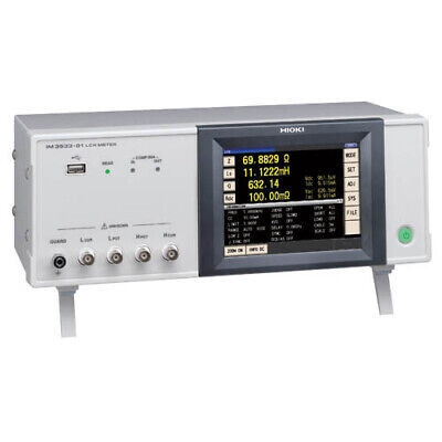 Hioki IM3533-01 LCR Meter w/ frequency sweep testing. 1 mHz to 200 kHz