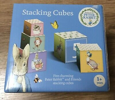 Peter Rabbit & Friends Stacking Cubes *NEW*