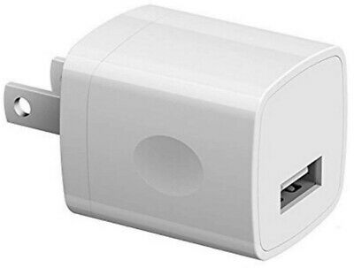 Bulk USB Wall Charger Adapter 1Amp Single Port Plug Cube For Phone Wholesale Lot